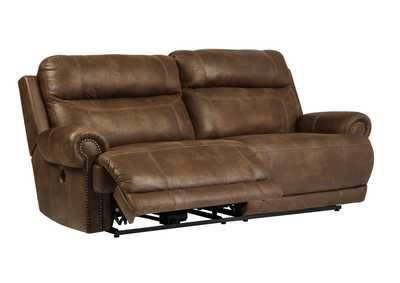Austere Brown 2 Seat Reclining Sofa