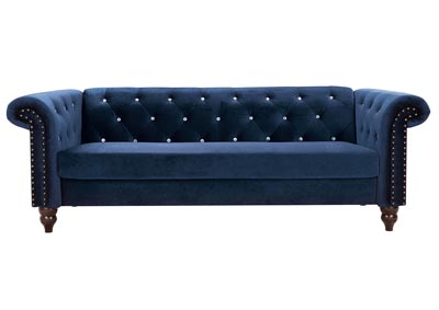 Malchin Navy Loveseat