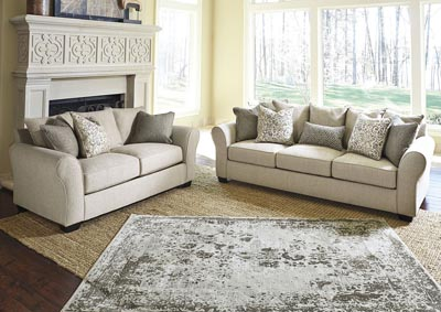 Baxley Jute Sofa & Loveseat