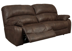 Zavier Truffle 2 Seat Reclining Sofa,Signature Design by Ashley