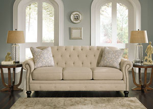 Kieran Natural Sofa,Signature Design By Ashley