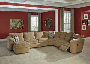 Coats Dune Right Facing Chaise End Extended Sectional,Signature Design By Ashley