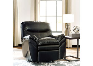 Tassler DuraBlend Black Rocker Recliner