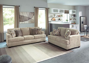 Barrish Sisal Sofa & Loveseat,Benchcraft
