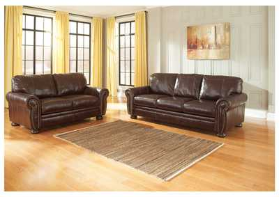 Banner Coffee Sofa and Loveseat