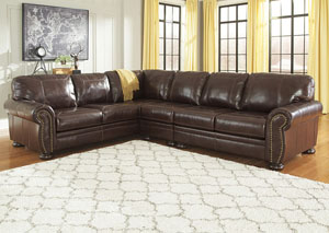 Banner Coffee Extended Left Facing Sofa Sectional