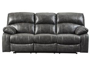 Dunwell Steel Power Reclining Sofa w/Adjustable Headrest
