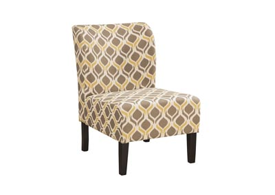 Honnally Gunmetal Accent Chair