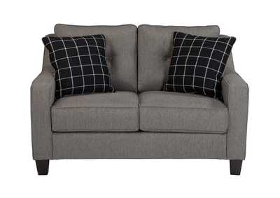 Brindon Charcoal Loveseat