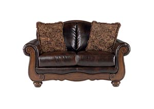 Barcelona Antique Loveseat,Signature Design by Ashley