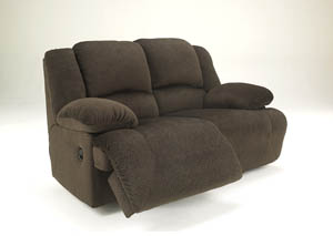 Toletta Chocolate Reclining Power Loveseat