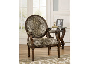 Martinsburg Meadow Showood Accent Chair