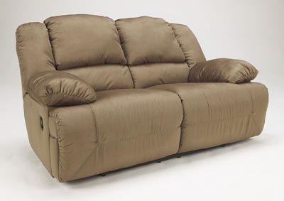 Hogan Mocha Reclining Loveseat,Signature Design by Ashley