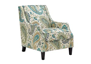 Lochian Jade Accent Chair
