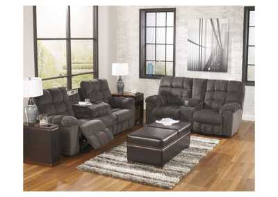 Acieona Slate Reclining Sofa & Loveseat,Signature Design by Ashley