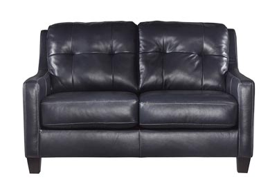 O'Kean Navy Loveseat