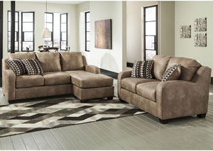 Alturo Dune Sofa Chaise w/Loveseat