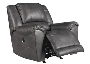 Persiphone Charcoal Power Rocker Recliner