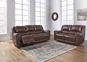 Persiphone Canyon Power Reclining Sofa & Loveseat
