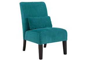 Annora Teal Accent Chair,Signature Design by Ashley