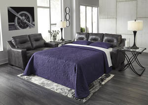 Kensbridge Charcoal Queen Sofa Sleeper