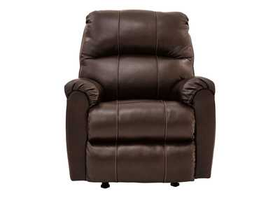 Hermiston Walnut Recliner,Signature Design By Ashley