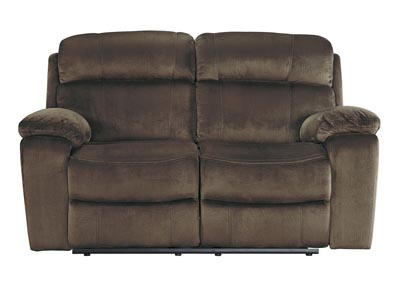 Uhland Chocolate Power Reclining Loveseat