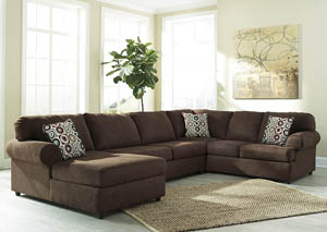 Jayceon Java Extended Left Facing Chaise End Sectional