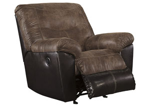 Follett Coffee Rocker Recliner,Signature Design by Ashley