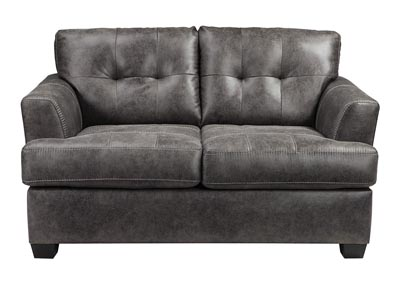 Inmon Charcoal Loveseat