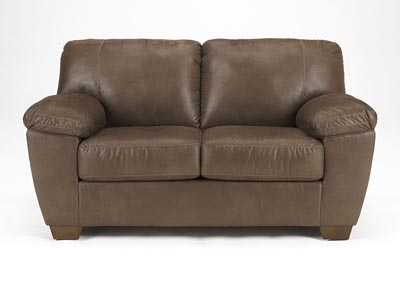 Amazon Walnut Loveseat,Signature Design by Ashley