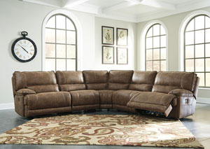 Grattis Saddle Zero Wall Power Recliner Sectional