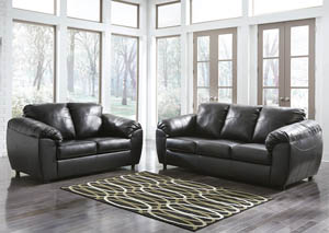 Fezzman Onyx Sofa and Loveseat,Benchcraft