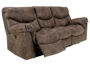 Alzena Gunsmoke Reclining Power Sofa