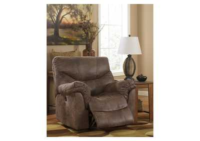 Alzena Gunsmoke Power Rocker Recliner