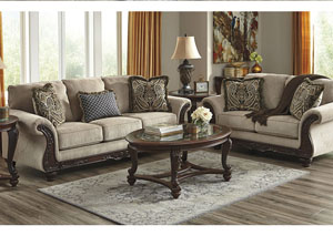 Laytonsville Pebble Sofa and Loveseat