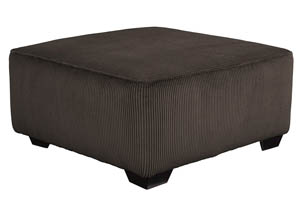 Jinllingsly Chocolate Oversized Accent Ottoman