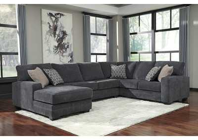 Tracling Slate Left Facing Sofa Sectional