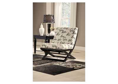 Levon Charcoal Showood Accent Chair,Signature Design by Ashley