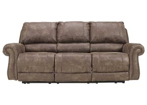 Oberson Gunsmoke Reclining Power Sofa,Signature Design by Ashley