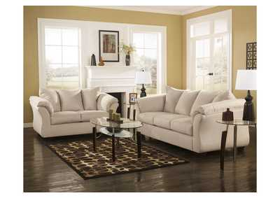 Darcy Stone Sofa & Loveseat