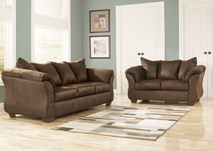 Darcy Cafe Sofa & Loveseat,Signature Design by Ashley