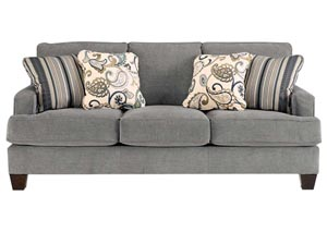 Yvette Steel Sofa,Ashley