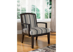 Yvette Steel Showood Accent Chair,Ashley