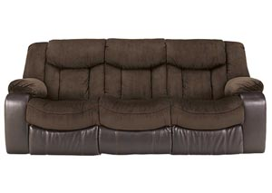 Tafton Java Reclining Sofa,Signature Design by Ashley