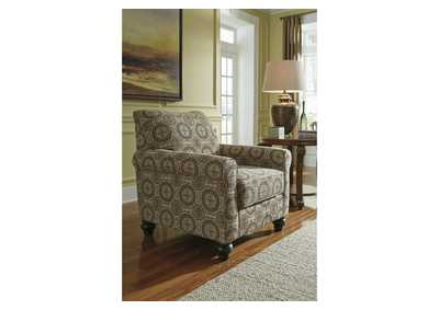 Breville Burlap Accent Chair,Benchcraft