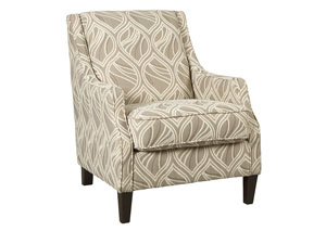 Mauricio Linen Accent Chair