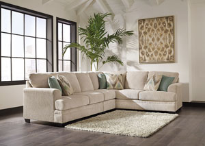 Ameer Sand Extended Right Facing Sectional,Benchcraft