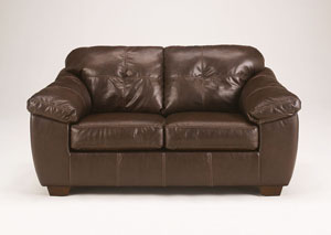 San Lucas Brown Loveseat