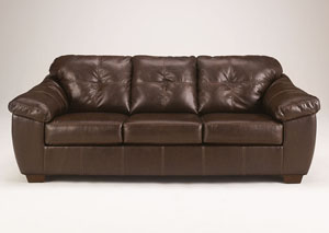 San Lucas Brown Sofa,Ashley